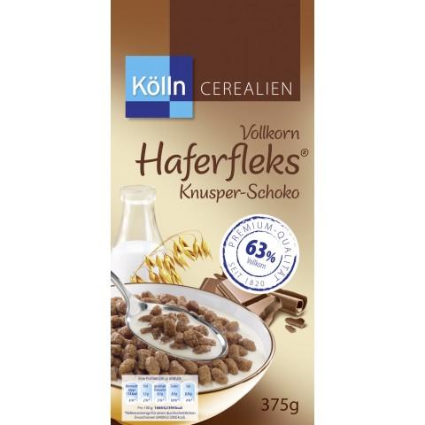 Kölln Cerealien Vollkorn Haferfleks Knuper-Schoko 375 g