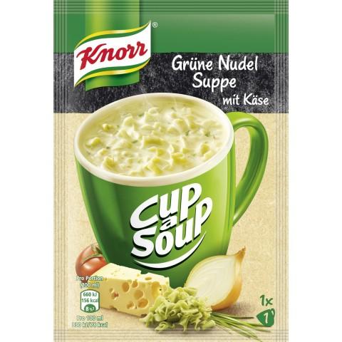 Knorr Cup a Soup Grüne Nudelsuppe mit Käse