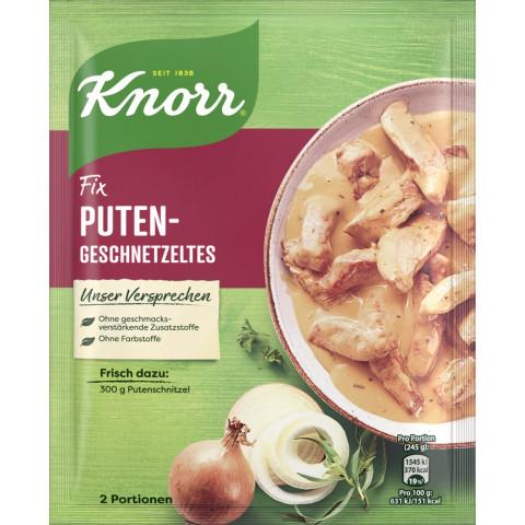 Knorr Fix für Putengeschnetzeltes 36 g