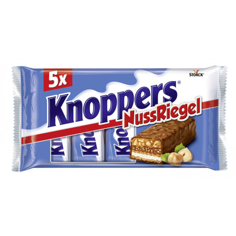 Knoppers Nuss Riegel 5ST 200G