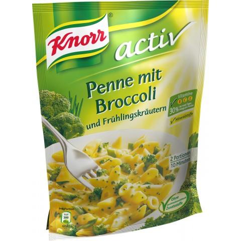 Knorr Activ Penne mit Broccoli & Frühlingskräuter