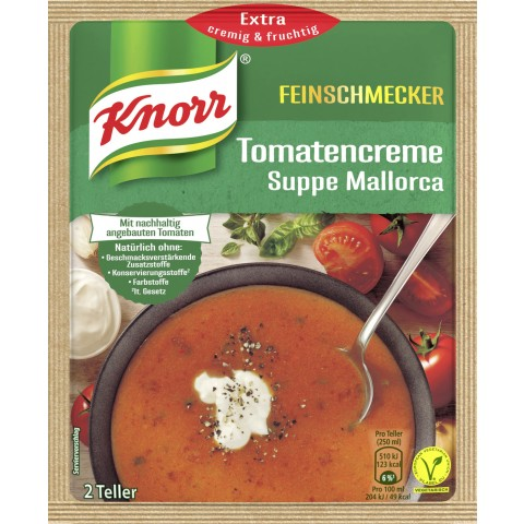 Knorr Feinschmecker Tomatencremesuppe Mallorca 59 g