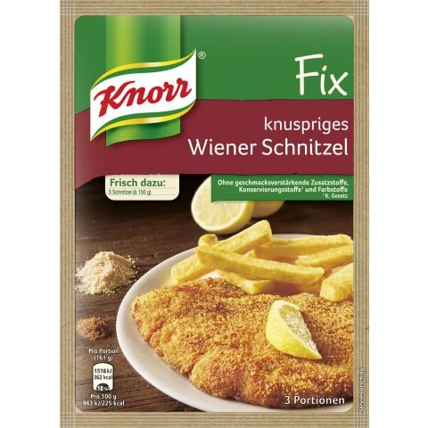 Knorr Fix für knuspriges Wiener Schnitzel
