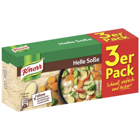 Knorr Helle Soße Dreierpackung