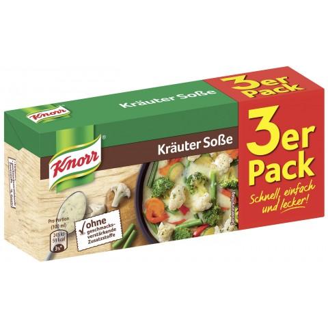 Knorr Kräuter Sauce Dreierpackung
