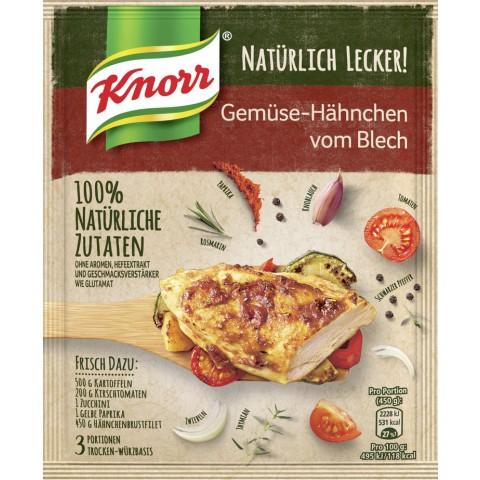 Knorr Natürlich Lecker Gemüse-Hähnchen vom Blech 53 g