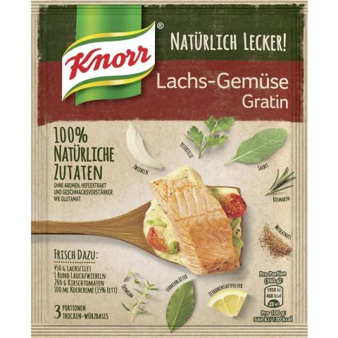 Knorr Natürlich Lecker Lachs-Gemüse Gratin 42 g