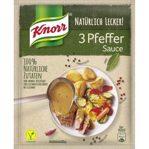Knorr Natürlich Lecker Pfeffer Sauce 34 g