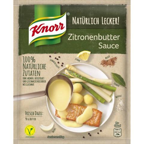 Knorr Natürlich Lecker Zitronenbutter Sauce 35 g