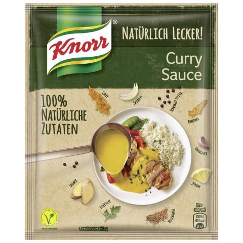 Knorr Natürlich Lecker Curry Sauce