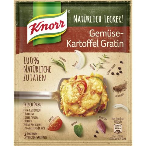 Knorr Natürlich Lecker! Gemüse-Kartoffel Gratin