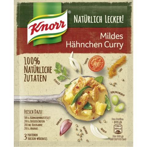 Knorr Natürlich Lecker Mildes Hähnchen Curry 47 g