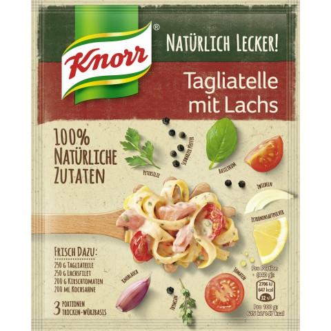 Knorr Natürlich Lecker Tagliatelle mit Lachs 39 g