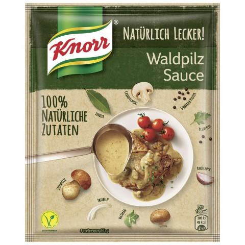 Knorr Natürlich Lecker Waldpilz Sauce