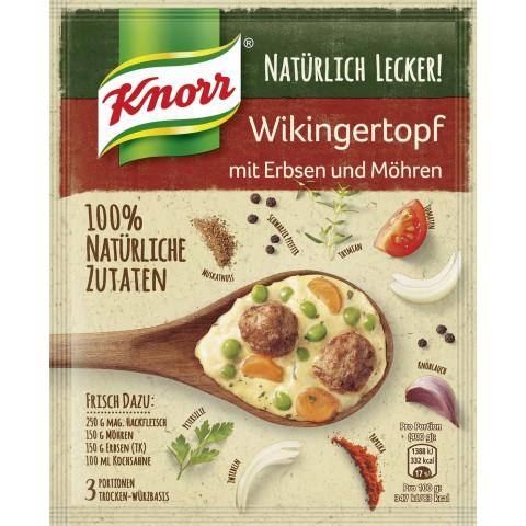 Knorr Natürlich Lecker! Wikingertopf mit Erbsen und Möhren