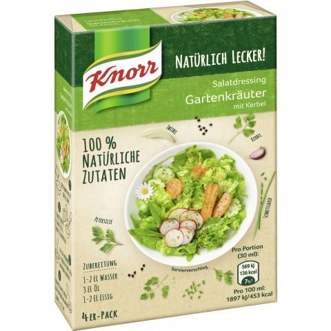 Knorr Natürlich Lecker Salatdressing Gartenkräuter