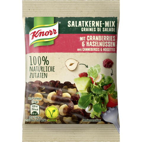 Knorr Salatkerne Mix mit Cranberries & Haselnüssen 30 g