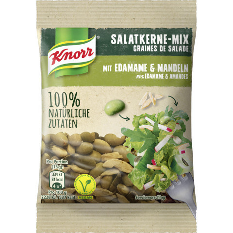 Knorr Salatkerne Mix mit Edamame & Mandeln 30 g