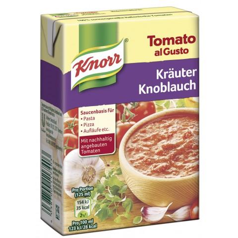 Knorr Tomato al Gusto Kräuter-Knoblauch 370 g
