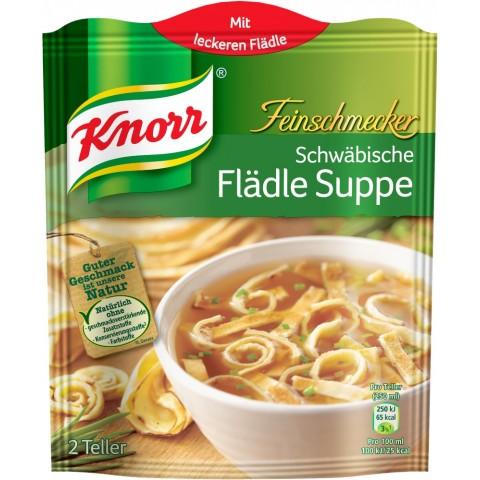 Knorr Feinschmecker Schwäbische Flädle Suppe