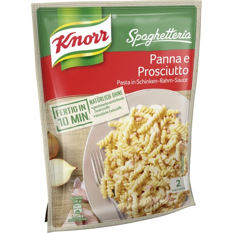 Knorr Spaghetteria Pasta Panna e Prosciutto