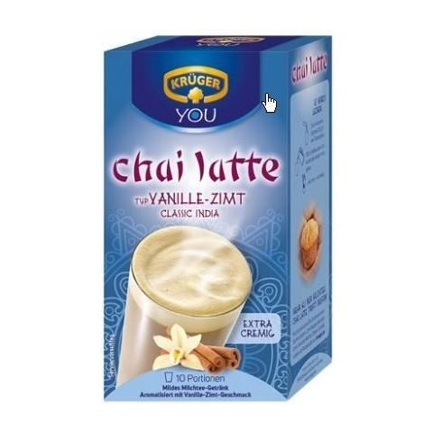 Krüger Chai Latte Classic India Typ Vanille-Zimt 10x 25 g