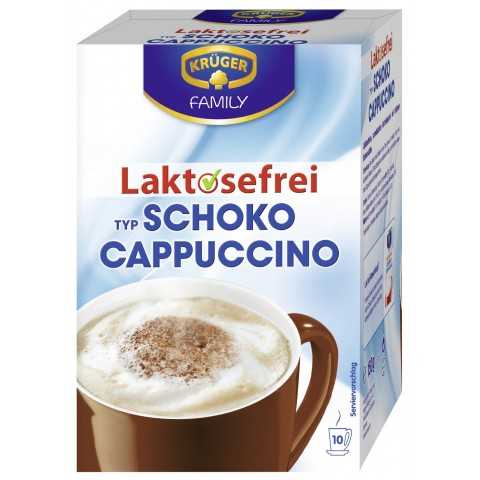 Krüger Cappuccino Schoko laktosefrei