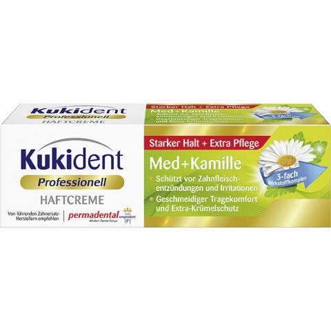 Kukident Professionell Haftcreme Med + Kamille 40 g