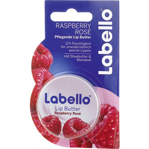 Labello Lip Butter Raspberry Rosé