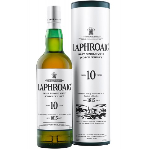 Laphroaig 10 Jahre Single Malt Whisky 0,7 ltr