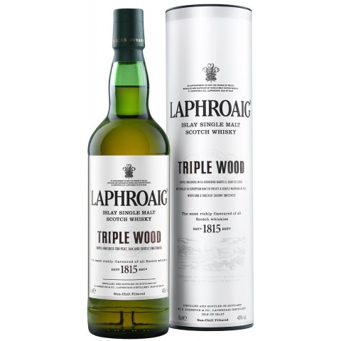 Laphroaig Triple Wood Single Malt Whisky
