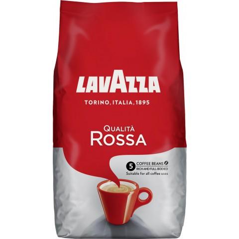 Lavazza Caffe Qualita Rossa ganze Bohnen 1 kg