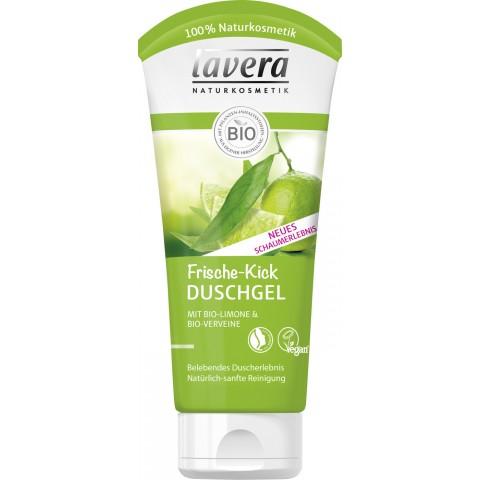 lavera Naturkosmetik Frische-Kick Duschgel mit Bio-Limone & Bio-Verveine