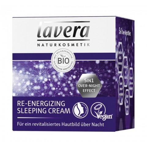lavera Naturkosmetik Re-Energizing Sleeping Cream 50 ml