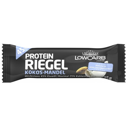 Layenberger LowCarb.one Protein-Riegel Kokos-Mandel