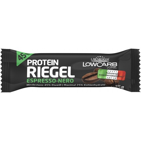 Layenberger LowCarb.one Protein-Riegel Espresso Nero 35 g
