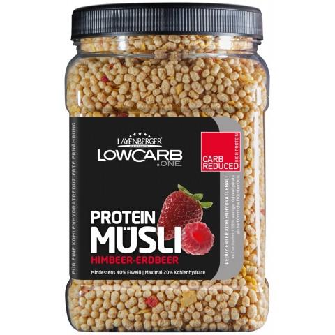 Layenberger LowCarb.one Protein-Müsli Himbeer-Erdbeer