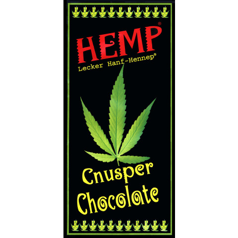 Leckerhanf Hemp Cnusper Chocolate 100 g