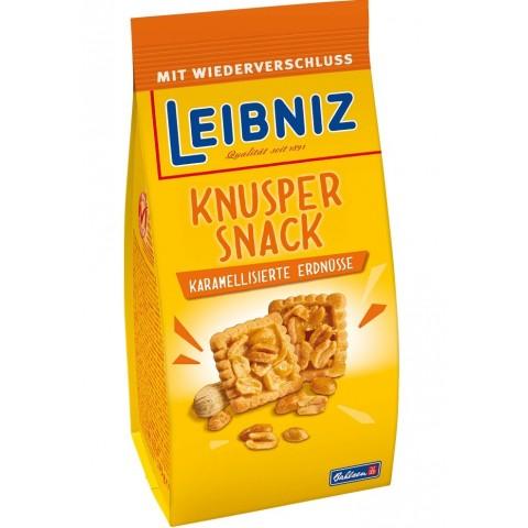 Leibniz Knusper Snack Karamelisierte Erdnüsse