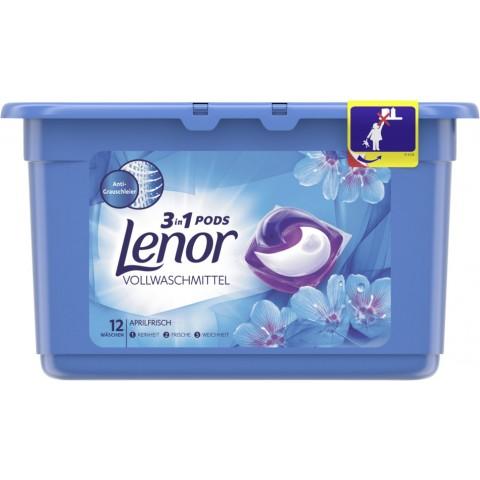 Lenor 3in1 Pods Vollwaschmittel Aprilfrisch 0,316 kg 12 WL