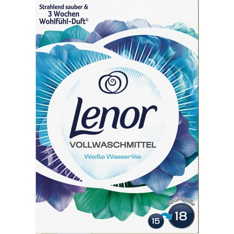 Lenor Vollwaschmittel Pulver Aprilfrisch 1,04kg 16 WL