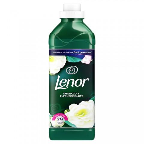Lenor Smaragd & Elfenbeinblüte Weichspüler 0,87 ltr 29 WL