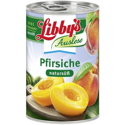 Libbys Pfirsiche natursüß