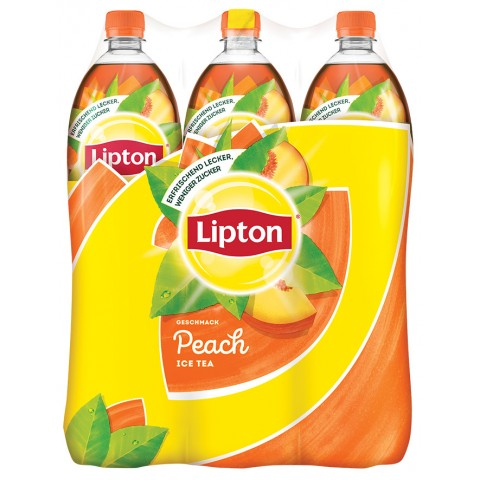 Lipton Ice Tea Peach 6x 1,5 ltr