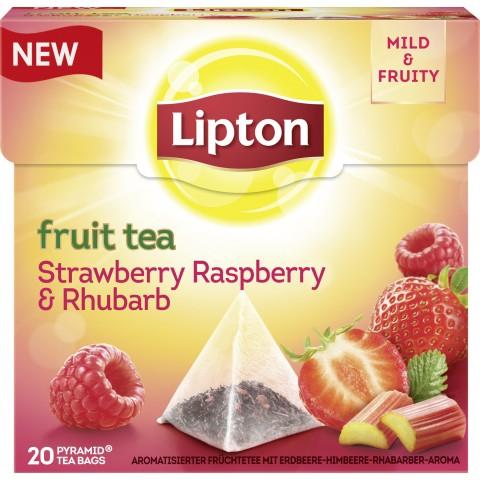 Lipton Fruit Tea Strawberry, Raspberry & Rhubarb