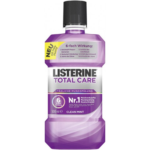 Listerine Total Care Mundspülung Clean Mint