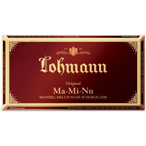Lohmann Mandel-Milch-Nuss-Schokolade 100 g