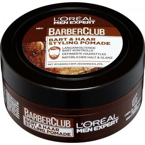 L'Oreal Men Expert Barber Club Bart & Haar Styling Pomade 75 ml