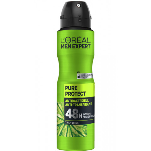L'Oreal Men Expert 48H Deospray Pure Protect 150ml