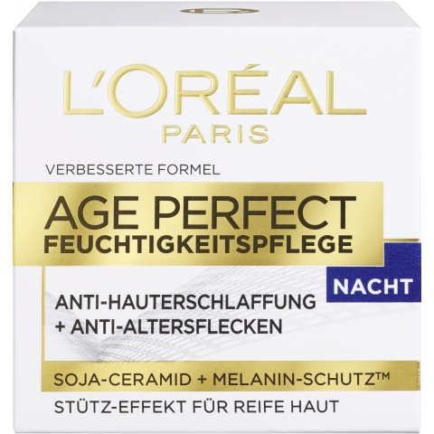 L'Oréal Age Perfect Feuchtigkeitspflege Nacht 50 ml